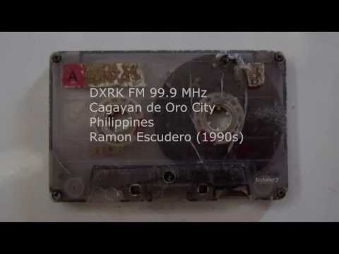 DXRK 99.9 MHz - Ramon Escudero (1990s)