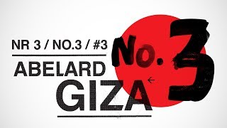 ABELARD GIZA - Numer 3 (całe nagranie) (2018)