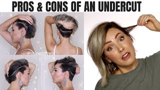 UNDERCUT PROS & CONS || GROW OUT PROCESS