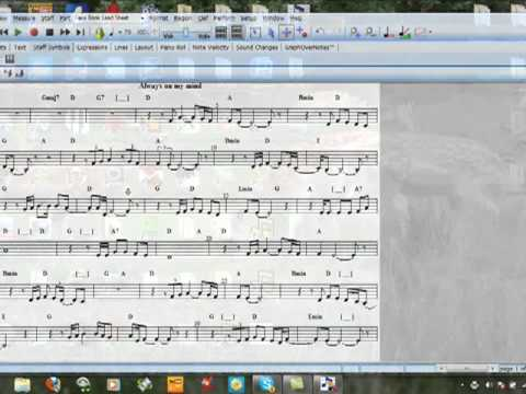 Notation Composer Tutorial - www.tyrosmania.yolasite.com