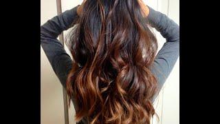 Модное окрашивание волос. Техника и фото сомбре(Сомбре - окрашивание с эффектом естественно выгоревших волос., 2016-09-22T18:45:29.000Z)