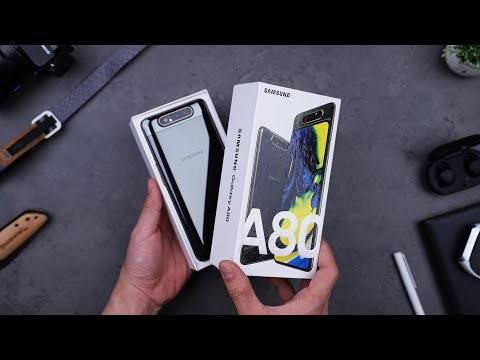 Image of Rp9.499 JUTA! UNBOXING SAMSUNG GALAXY A80!