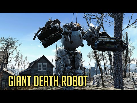 GIANT DEATH ROBOT! Fallout 4 – New Automatron DLC