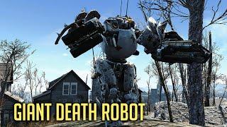 GIANT DEATH ROBOT Fallout 4 - New Automatron DLC