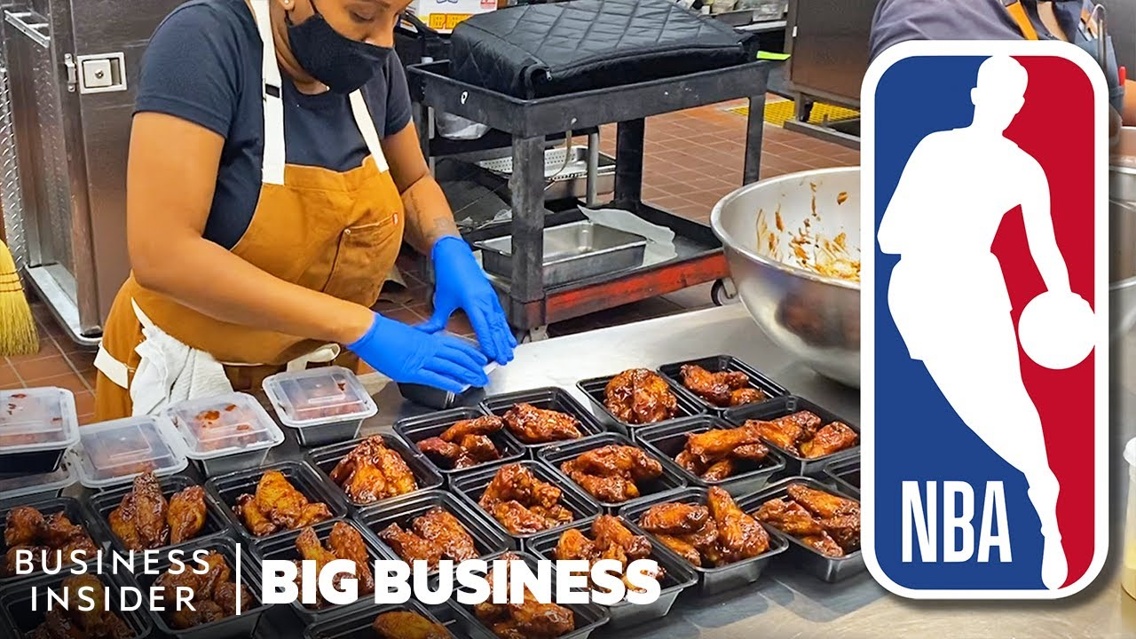 How Chefs In The NBA Bubble Make 4,000 Meals A Week | Big Business