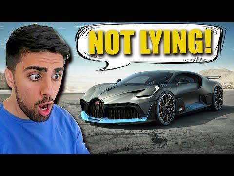Mo Vlogs Bugatti Divo - Faking Delivery