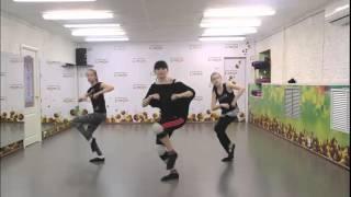 Урок современного танца с клубом Lemon, классно танцуют
