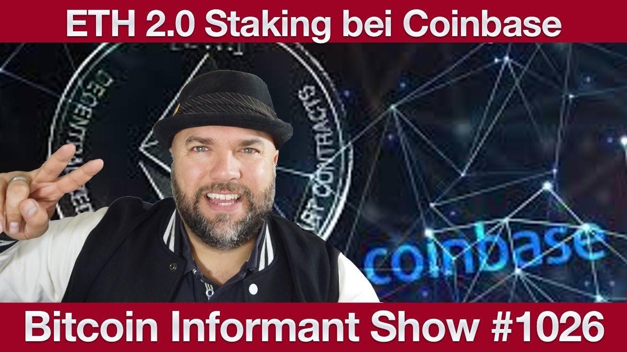 #1026 Coinbase ETH Staking, Chef Börse Stuttgart wird BitMex CEO & BlockFi BTC Rewards Kreditkarte