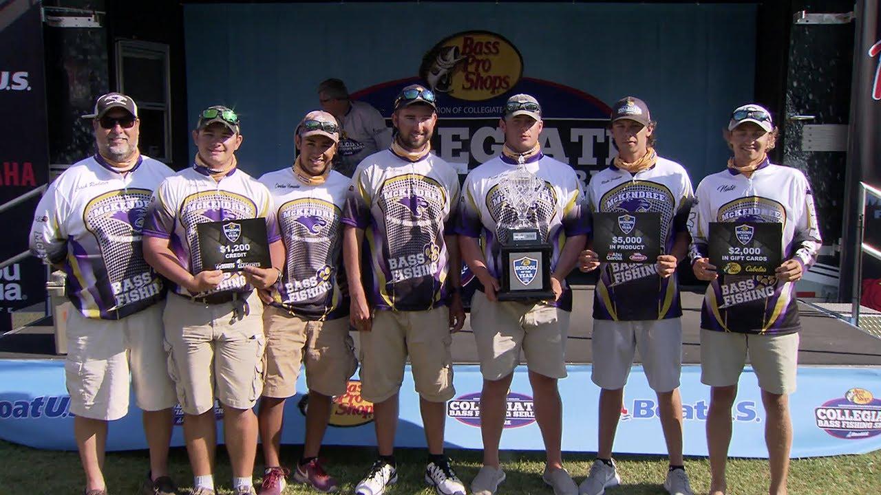 The Bass Pro Shops Collegiate Bass Fishing Series