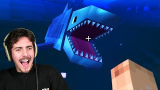 SHARK ATTACK!! | Minecraft Ultra Survival | Ep. 7