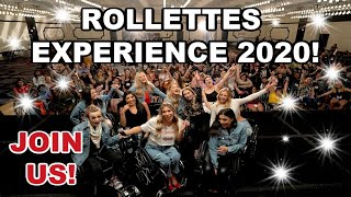 Rollettes Experience 2020! Join us!