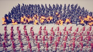 50x FIRE ARCHERS vs 50x EVERY UNIT - Totally Accurate Battle Simulator TABS