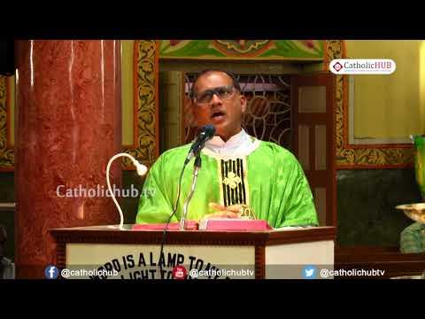English Mass @ Shrine of Our Lady of Health, Khairtabad, Hyderabad, Telangana, India.18-11-19