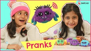 Funny PRANKS Using VOICE Sensitive TOYS | #Yellies #Unboxing #Roleplay #FreeProduct #MyMissAnand