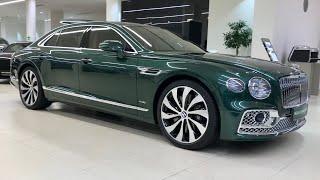 Bentley Flying Spur   Непревзойдённый Люксовый Автомобиль от Бентли   Круговой Обзор...