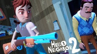 A FAMÍLIA DO VIZINHO PARTIU-SE!!! UM TRISTE HELLO NEIGHBOR 2 | Hello Neighbor Hide and Seek (NOVO)