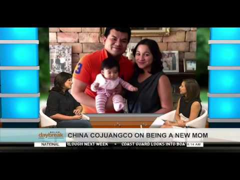 SOLAR DAYBREAK: CHINA COJUANGCO-GONZALEZ ON BEING A NEW MOM