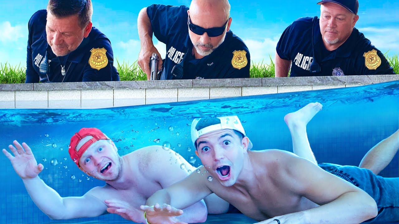 Download Hiding UNDERWATER from the POLICE! ft Unspeakable