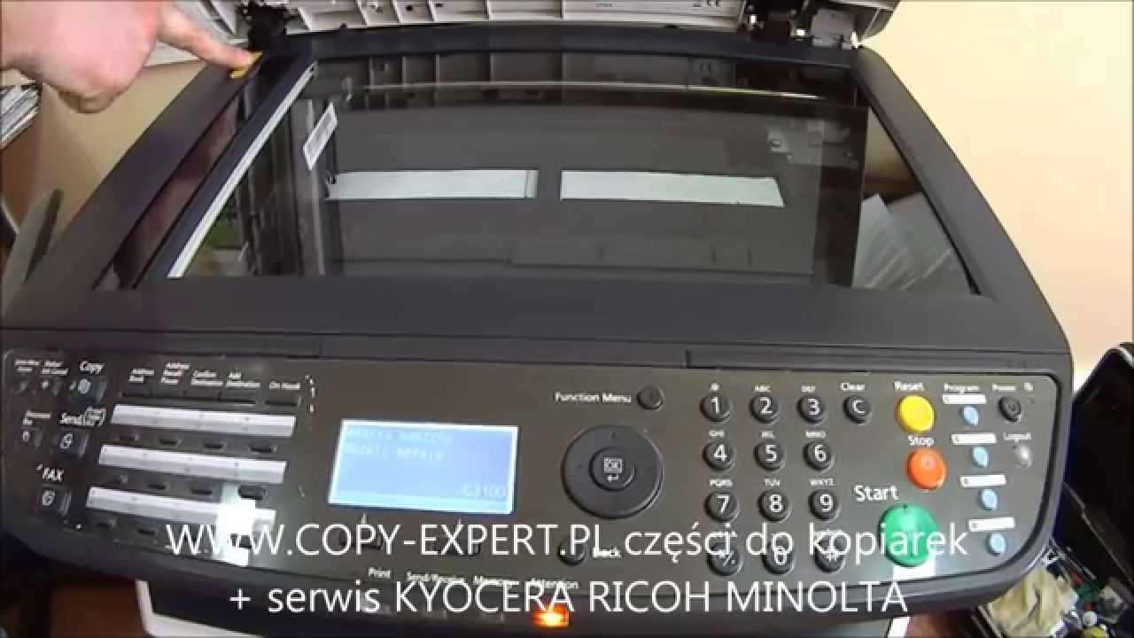 ERROR C3100 KYOCERA MITA FS1028 FS1128 3140 ISU home position error