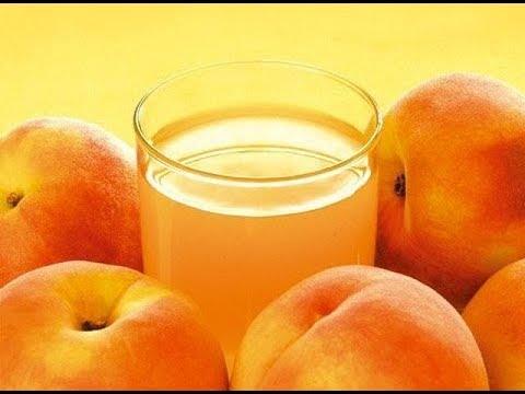 Вопрос: Как сделать персиковый сок?