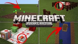 ✔️Minecraft PE - 10 THINGS YOU MIGHT HAVE NOT KNOWN [MCPE] | Tips, tricks, facts, and glitches