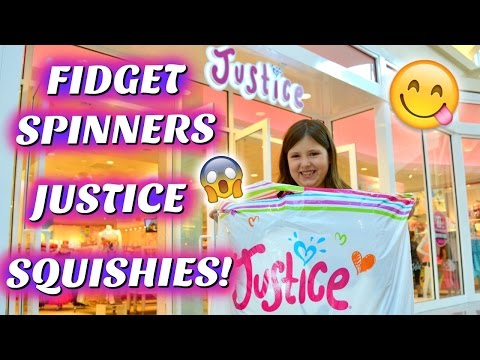 JUSTICE, SQUISHIES & FIDGET SPINNERS~Shopping Mall Vlog | Sedona Fun Kids TV