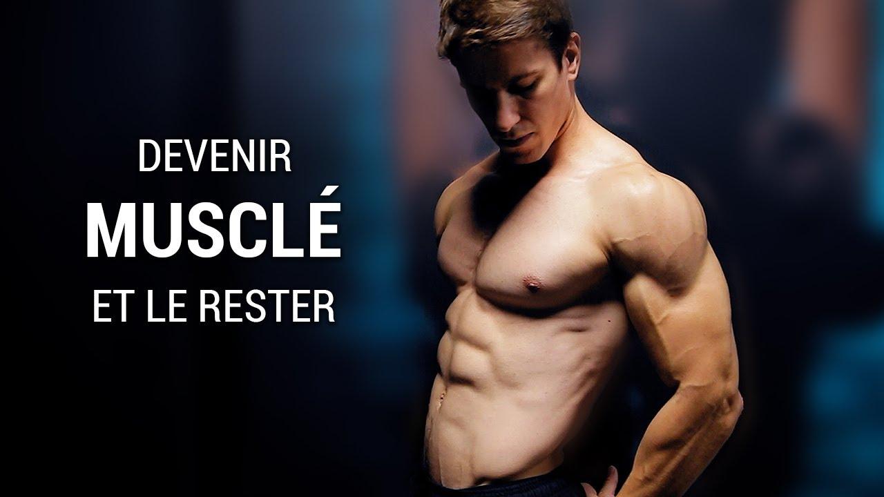 Le Secret des Gens qui deviennent Musclés et qui le restent !