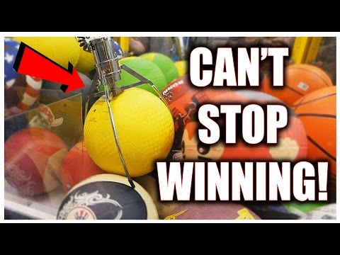 I CAN'T STOP WINNING THESE AT THE CLAW MACHINE! || Arcade Games