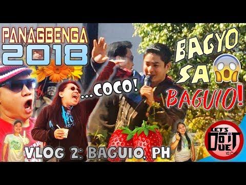 BAGUIO ESCAPADE 2018 (Panagbenga Festival Experience )   Vlog 02