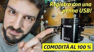 Lo monti in UN MINUTO e microfoni TUTTA la batteria con suoni PAZZESCHI! | Yamaha EAD10
