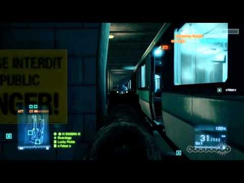 Battlefield 3: Defenders - Multiplayer Beta Operation Metro Gameplay (Xbox 360)