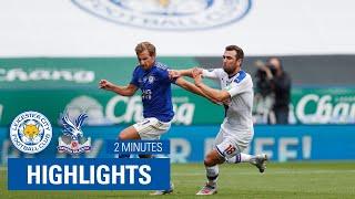 HIGHLIGHTS | Leicester Cİty 3-0 Cryṡtal Palace