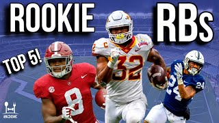 Top 5 Rookie Running Backs to Target in 2019 Fantasy Football