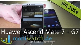 video test huawei ascend mate 7 g7 note 4 konkurrenz