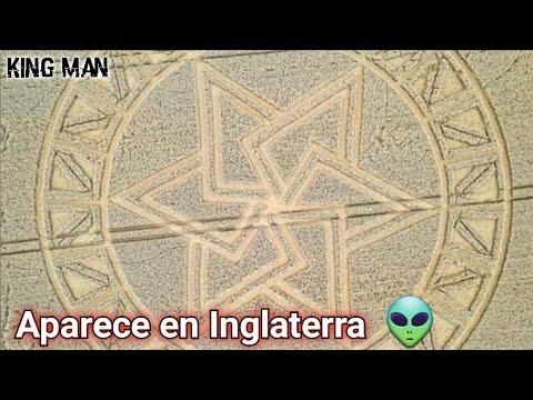 Nuevo círculo en los cultivos o Crop Circle en Reino Unido, geometria sagrada en los trigales ???