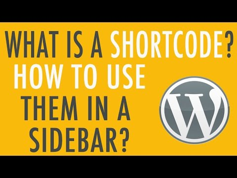 What is a Shortcode in WordPress and how do you use them?