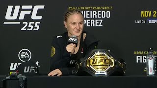 UFC 255: Valentina Shevchenko Post-fight Press Conference
