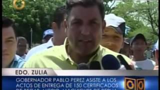 Pablo Pérez - Entrega Becas en Municipio Machiques de Perijá