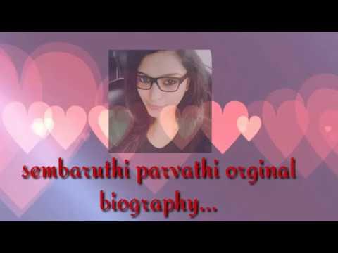 Sembaruthi Serial Parvathi Biography Collection