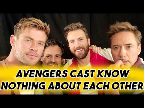 AVENGERS ENDGAME CAST KNOW NOTHING ABOUT EACH OTHER  FUNNY MOMENTS