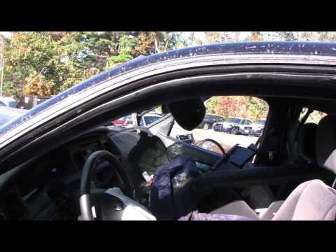Massachusetts Lt. Governor Tim Murray totals car