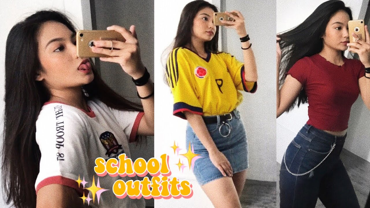 SCHOOL OUTFIT IDEAS 2018 📚📒 (philippines)