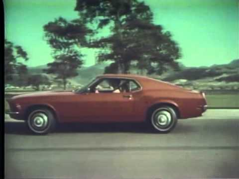 reputable site 7fbc1 e915f 1970 Ford Mustang TV Ad Commercial (4 4). Classic Car Channel