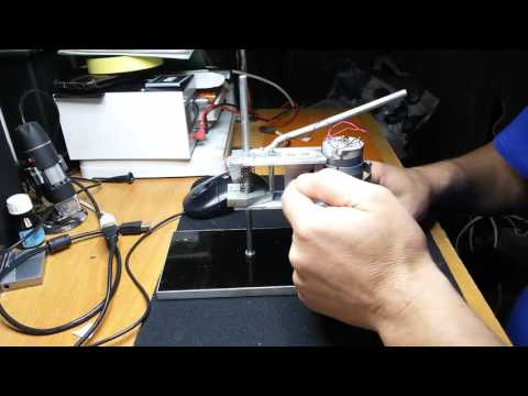 Сверлильный станок для печатных плат часть 2