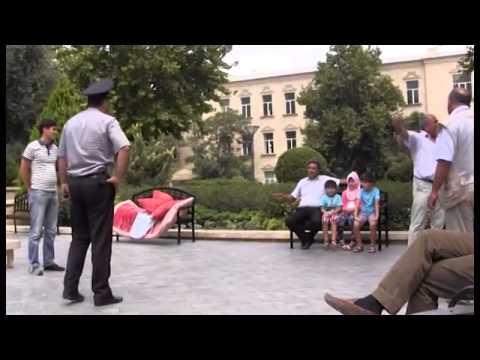Qazaxlı sahibkarın Prezident Administrasiyası qarşısında aksiyası...