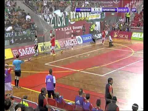 Futsal :: Play-off Final - 2 Jogo :: Benfica - 1 x Sporting - 2 de 2011/2012