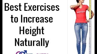 Top 10 Exercises to Increase Height Best Tips And Trick (Official)