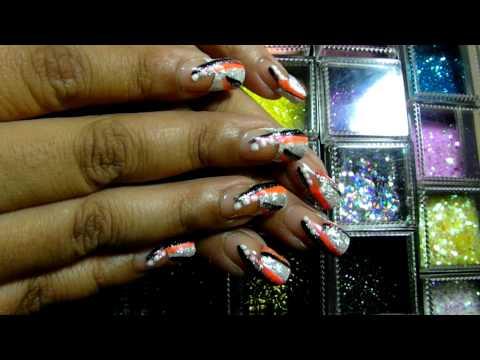 Vacation Nails for the Bahamas
