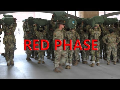 Army Basic Training  Day 1  Day 17  Red Phase  Fort Benning