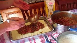Сицилийская вкуснятина. Лазанья.